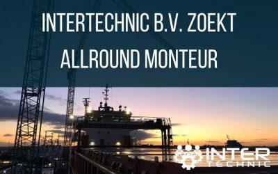 InterTechnic b.v. zoekt allround monteur